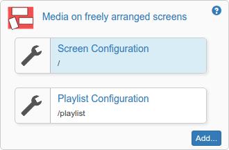 Setup configuration